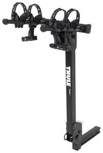 thule roadway 2 bike rack 1 1 4 quot and 2 quot hitches