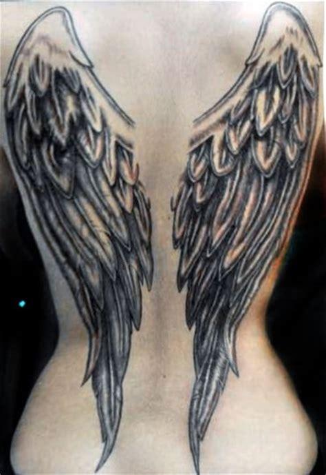 glow in the dark angel wings tattoo angel wings tattoo dark wings angels pinterest