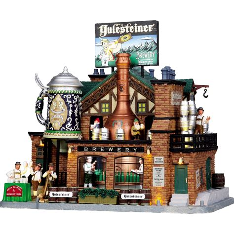 lemax collection yulesteiner brewery seasonal villages collectibles