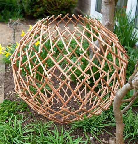 expandable willow trellis expandable garden willow trellis sphere 163 5 99