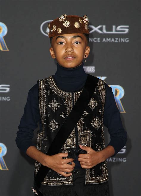 miles brown  world premiere  marvel studios black