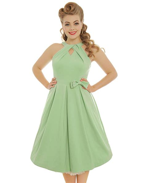 green swing dress cherel pastel green swing dress
