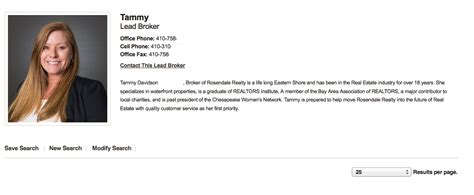 Idx Broker Platinum Agent Biography History Picture