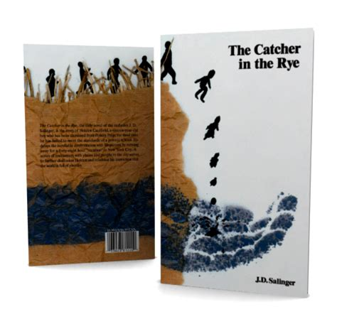 catcher in the rye book report the catcher in the rye book cover on behance