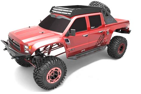 how long is monster truck redcat clawback rock crawler electric remote control r c