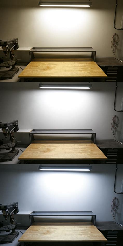 led workbench light fixture t8 led tube 32w equivalent ballast bypass ballast