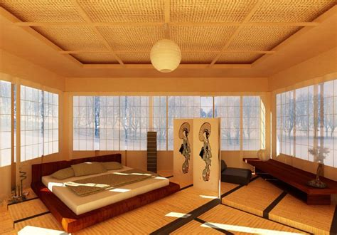 bedroom in japanese bedroom in japanese style
