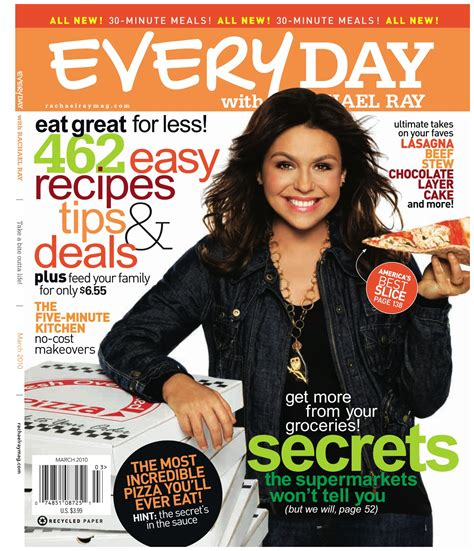cancel magazines hot rachael ray every day magazine just 3 31 for 1 year