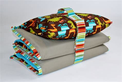 nap mat cover with blanket pillowcase handle and