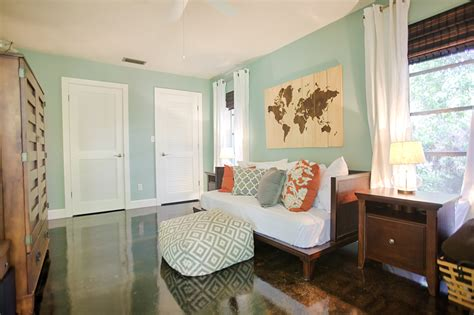 wythe blue bedroom a 1970s florida ranch home gets a southern cottage update