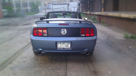 mustang licence plate whats your custom license plate page 9 the mustang