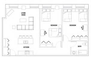 shared bathroom floor plans 2 bed 1 bath c shared bedroom university crossings