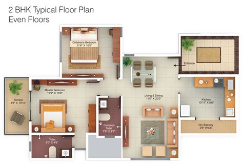 2bhk plan g corp hill side in hadapsar pune by g corp group buy