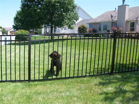 pictures of fences commercial aluminum fencing from fence depot