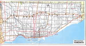 map of toronto roads transportation toronto page 2