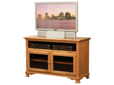 tv unit glass doors heritage tv unit with glass doors amish built tv unit