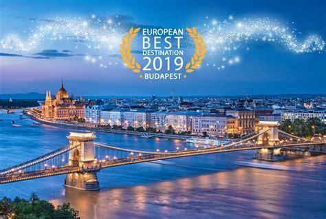 Budapest named European Best Destination 2019   The