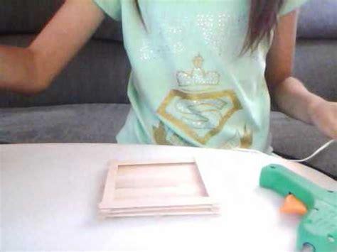canastas de palitos madera de colores como hacer una canasta de palitos de madera youtube