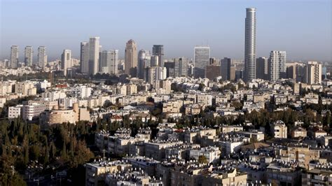 tel aviv skyline new tel aviv plan hopes to give immigrants a soft landing