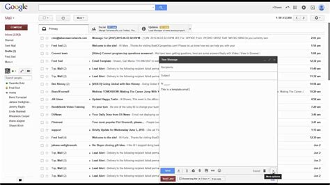 how to create an email template in gmail how to create an email template in gmail