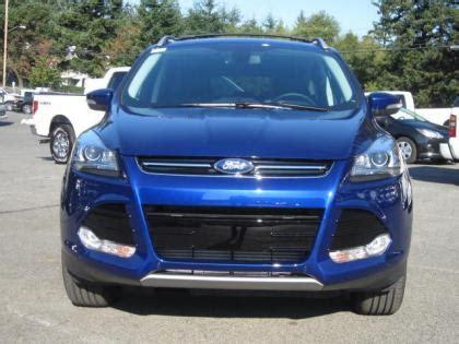 export   ford escape titanium blue  black