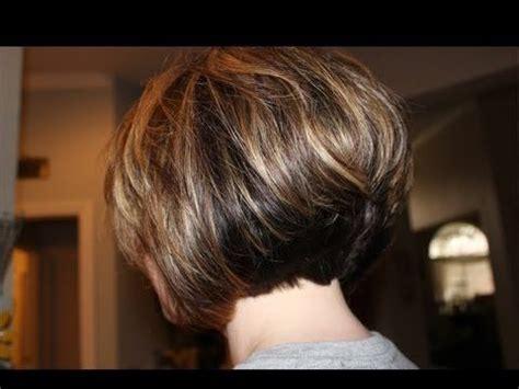 interior layers haircut corte bob largo corte de pelo mujer 2017 youtube
