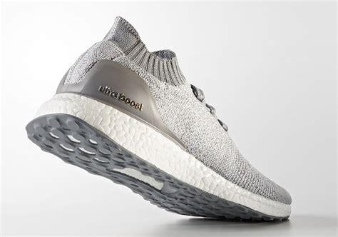 Adidas Ultra Boost Uncaged Grey Primeknit adidas ultra boost uncaged light grey bb4489 sneakernews
