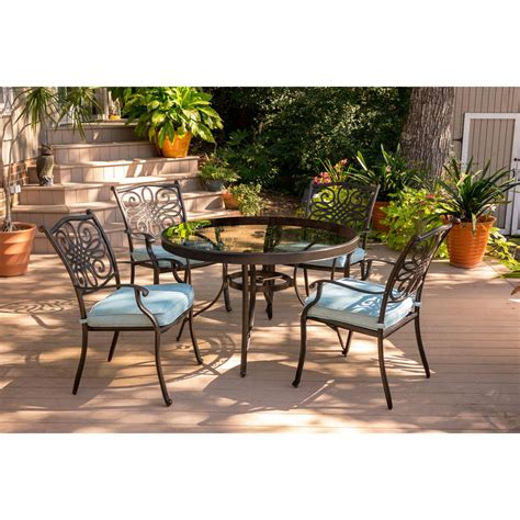 Summer Haven Gold 3 Pc 28 In Square Patio Set.. Furniture