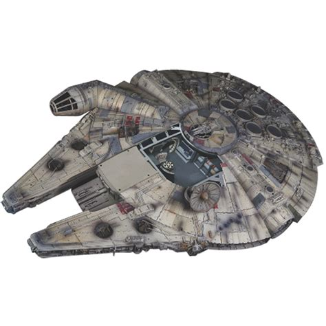 build an a frame build star wars millennium falcon model modelspace