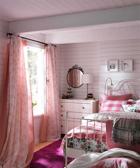 ikea pink bedroom vinter 2016 bettw 228 scheset 2 teilig karo rot girls