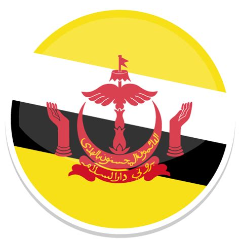 Icon Design Brunei | brunei icon round world flags iconset custom icon design