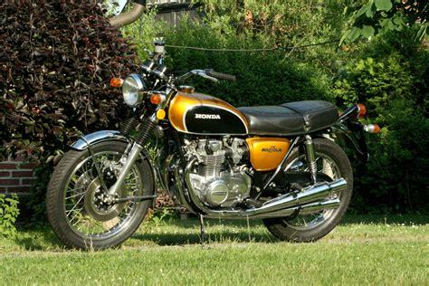Honda Motorrad 500 Four by Honda Cb 500 Four Candy Gold Ez 1972 Oldtimer