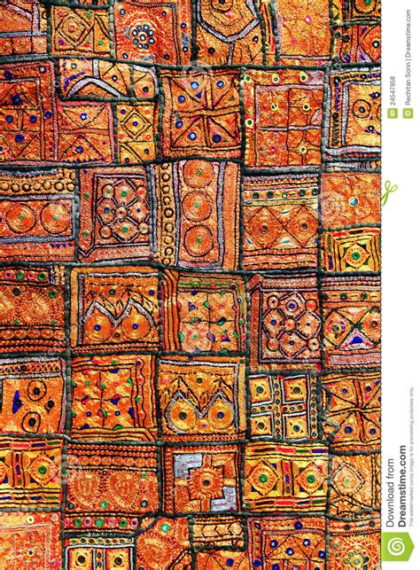 indian patchwork carpet royalty free stock photos image