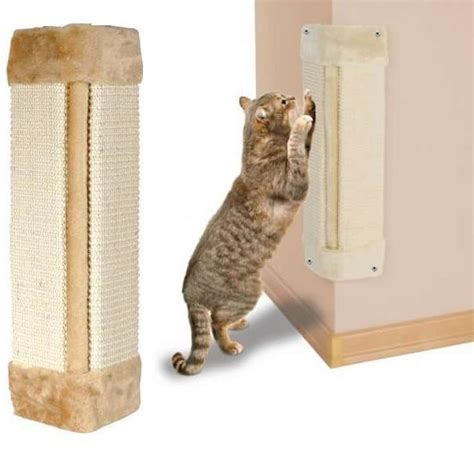 Post Mat by Me Pet Cat Kitten Sisal Corner Wall Big Scratching