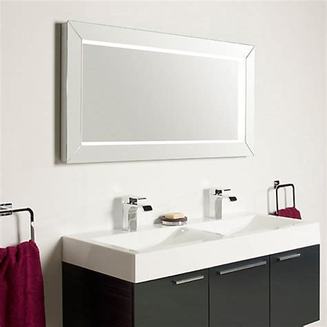 john lewis bathroom mirrors buy roper rhodes affinity illuminated bathroom mirror