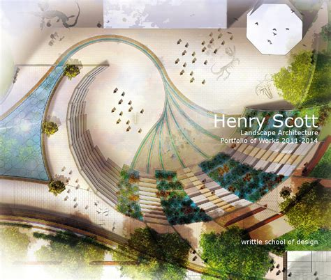 landscape page layout design landscape architecture portfolio of works by henry scott