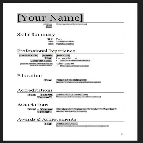 how to create a resume using microsoft word hairstylegalleries