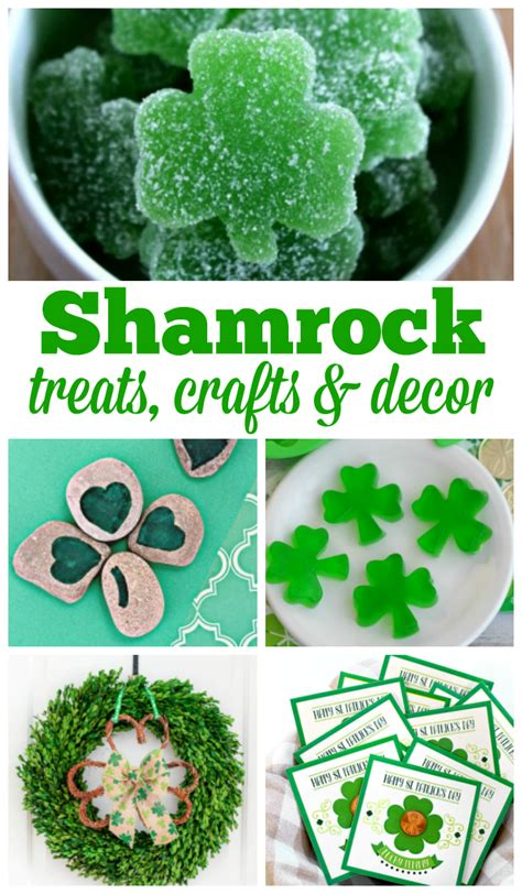 shamrock treats crafts and decor to celebrate st