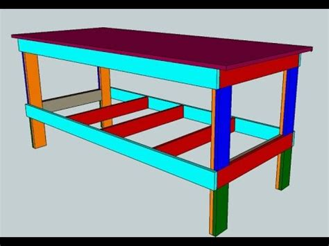 costruire un banco da lavoro in legno banco da lavoro in legno fai da te facile e resistente