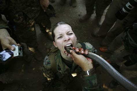 Gianna Michaels Meme - jungle exercises in thailand us marines drink blood of