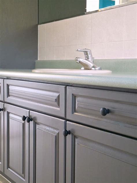 rustoleum cabinet transformations instructions dans le lakehouse refinishing bathroom cabinets with