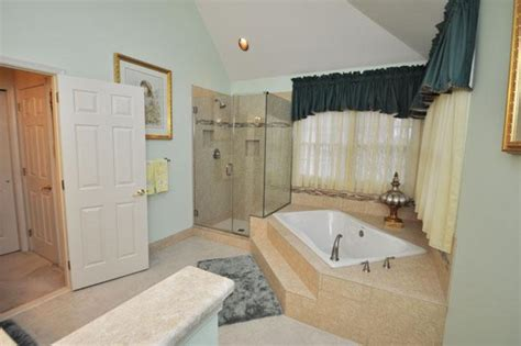 step up bathtub the bathroom added a beautiful glass enclosed shower and