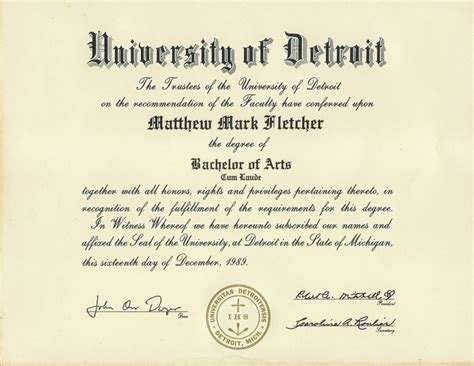 Of Michigan Phd Mba Dual Degree by Ba Degree Ba Degree