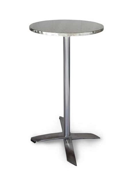 Stainless Steel Bistro Table Wollongong Hire Bar Table Stainless Steel