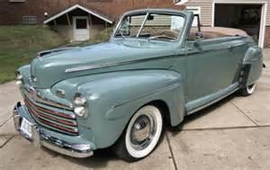 1946 ford convertible resto rod