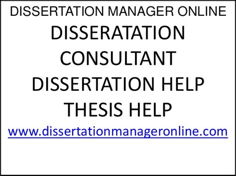 dissertation consultancy dissertation consultant uk