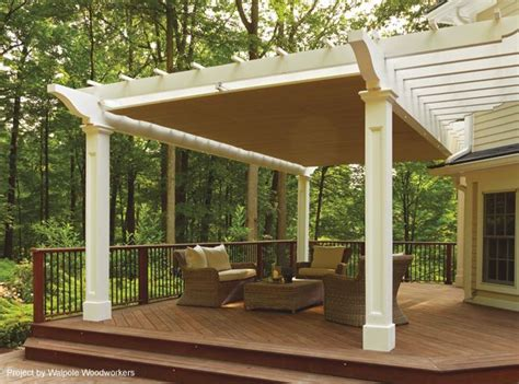 awnings and pergolas retractable pergola canopy in morris plains shadefx