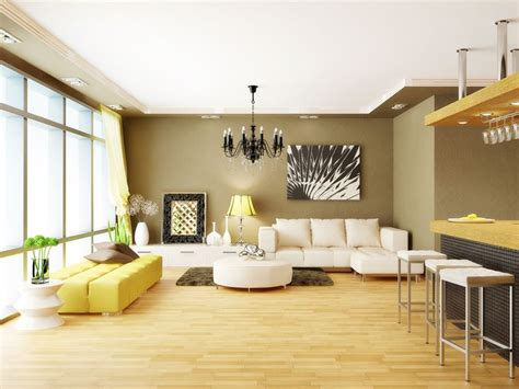 home decore cool home decor with lights and wooden flooring