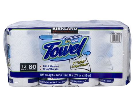 Who Makes Kirkland Paper Towels - kirkland signature costco premium big roll paper towel