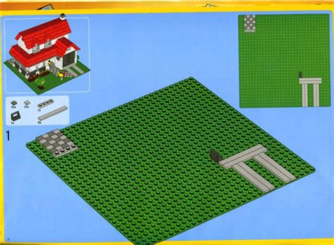 how to make a lego house old lego 174 instructions letsbuilditagain com